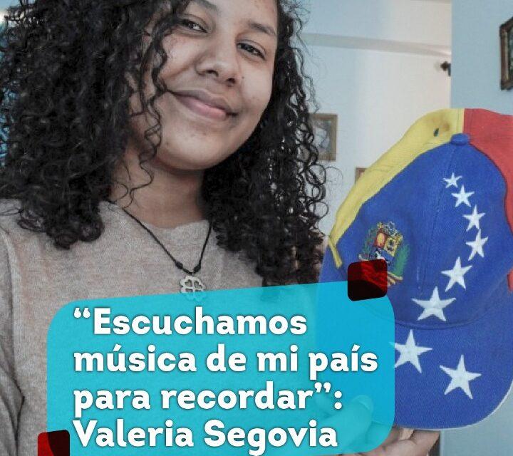 Video: Valeria Segovia recuerda sus raíces a través de la música.